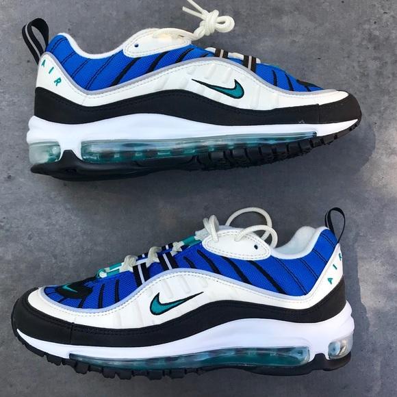 Nike Shoes Air Max 98 Womens Sizes Sailblueemerald Poshmark